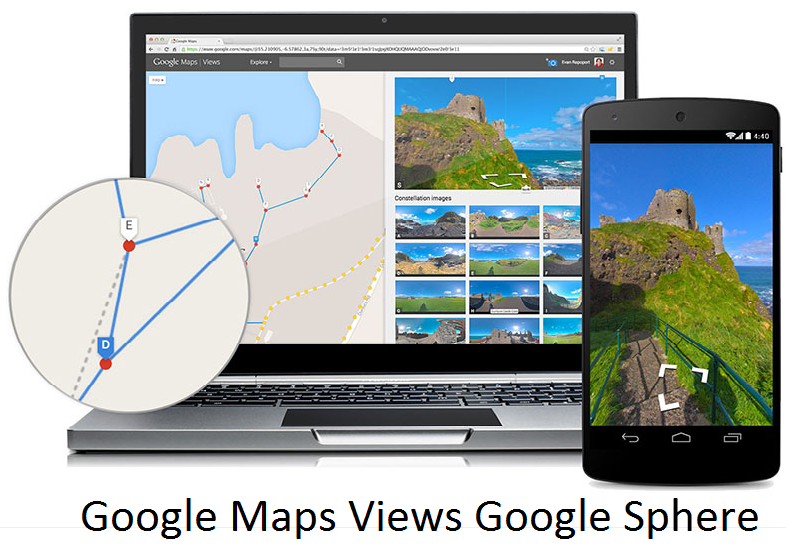 Visite virtuelle Google Maps Views